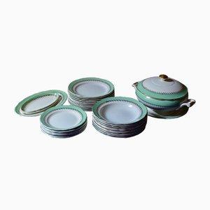 Französisches Geschirr-Set aus Keramik von Faïencerie de Sarreguemines, 1970er