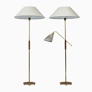 Floor Lamps by Bertil Brisborg for Nordiska Kompaniet, 1950s, Set of 2