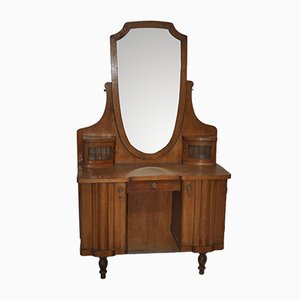 Mid-Century Wooden Dressing Table, 1940s