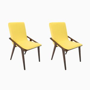 Vintage Czech Lounge Chairs, 1960s, Set of 2