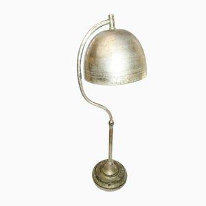 Antike Art Deco Rebar Tischlampe