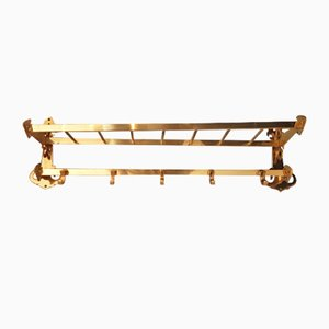 Vintage Modernist German Brass Rack, 1970s