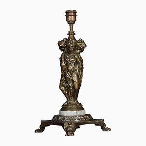 Lampada da tavolo antica scultorea