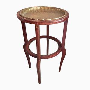 Antique Art Nouveau German Smoking Table