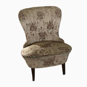 Mid-Century Walnut Lounge Chairs, 1950s, Set of 2