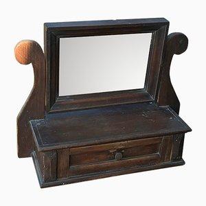 Specchio vintage rustico, anni '20
