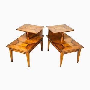 Art Deco Side Tables by Daniel Knechtel for Knechtel Furniture, 1907, Set of 2