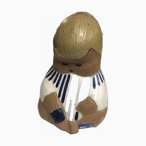 Figure Johanna Vintage par Lisa Larson pour Gustavsberg