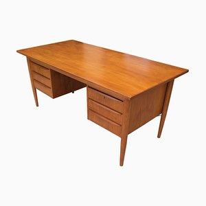 Dänischer Schreibtisch aus Teak von Gunnar Nielsen Tibergaard, 1960er