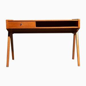 Deutscher Schreibtisch aus Kirschholz von Helmut Magg für WK Möbel, 1950er