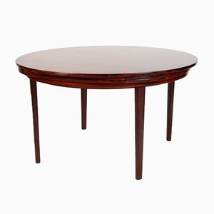 Mid-Century Danish Rosewood Dining Table by Dyrlund for Dyrlund, 1962