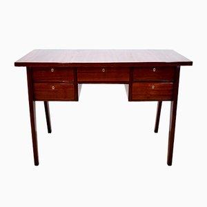 Italienischer Mid-Century Schreibtisch aus Mahagoni & Holz von Gio Ponti, 1950er