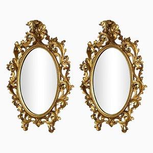 Antique Mirrors, Set of 2