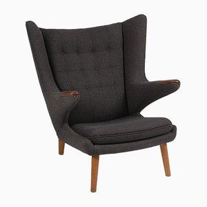 Fauteuil en Tissu par Hans J. Wegner pour AP Furniture, Danemark, 1963