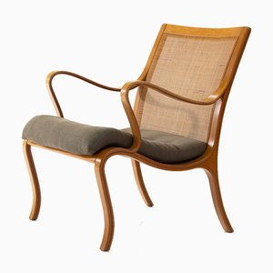 Vienna Beech Armchair by Nils Rooth for Swedese, 1970s