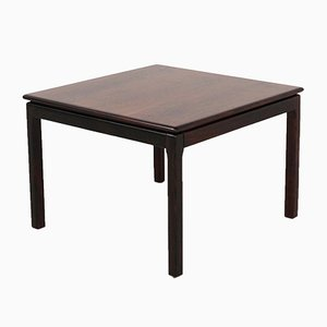 Rosewood Side Table by Haug Snekkeri for Bruksbo, 1960s