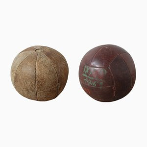 Vintage Excersise Balls, Set of 2