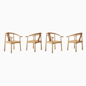 Yin Armchairs by Richard Nissen for Nissen Langaa, 1960s, Set of 4