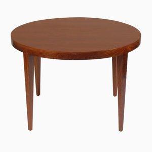 Tavolino da caffè in palissandro di Severin Hansen per Dansk Design, Danimarca, anni '60