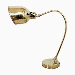 Lámpara de mesa Art Déco vintage de baquelita y latón, años 30