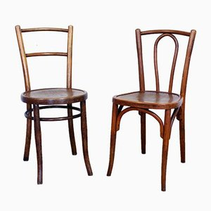 Vintage Model 42 & Kahn Dining Chairs from Baumann & Berthold Kahn, 1930s