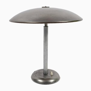 Mid-Century German Table Lamp with Steel Finish, 1960s