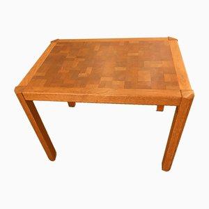 Danish Oak Coffee Table by Gorm Lindum Christensen for Tranekær Furniture, 1970s