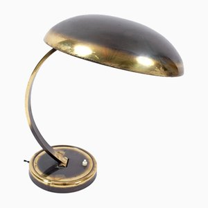 Mid-Century German Brass Model 6751 Table Lamp by Christian Dell for Kaiser Idell