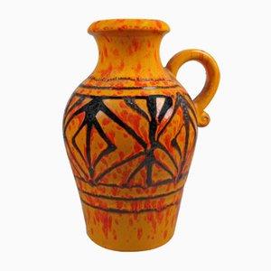 Deutsche Vintage Keramikvase von Scheurich, 1970er