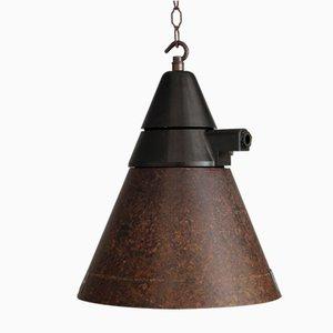 Lámpara de techo alemana Mid-Century de baquelita, años 50