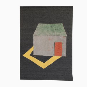Holiday House Wall Hanging by Kiki van Eijk