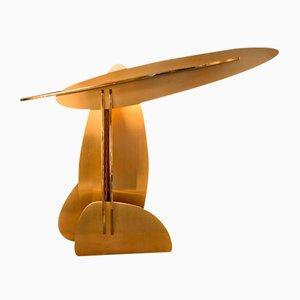 Lampada da tavolo con pannelli intrecciati di Kiki Van Eijk & Joost Van Bleiswijk per Joost