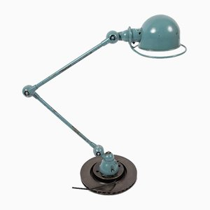 Industrial French Metal Table Lamp by Jean-Louis Domecq for Jieldé, 1950s