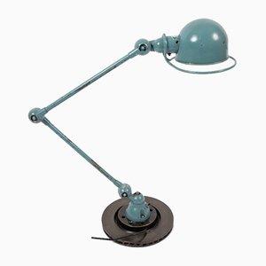 Industrielle französische Tischlampe aus Metall von Jean-Louis Domecq für Jieldé, 1950er