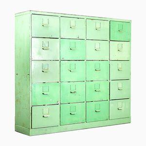 Mid-Century Industrial Metal Cabinet, 1960s