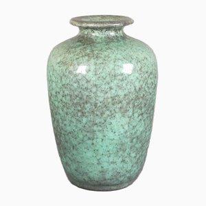 Jarrón alemán de cerámica de Friedergard Glatzle para Karlsruher Majolika, años 50