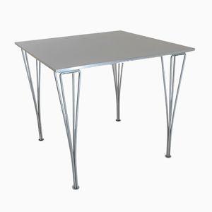 Table de Salle à Manger Industrielle en Aluminium et en Laminé par Arne Jacobsen pour Fritz Hansen, Danemark, 2001