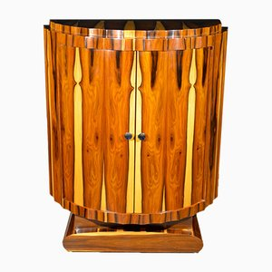 Art Deco Style French Maple and Palisander Sideboard, 1960s
