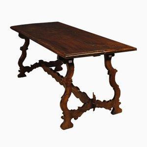Mesa de comedor italiana Mid-Century de madera, años 60