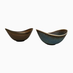 Mid-Century Swedish Bowls by by Gunnar Nylund for Rörstrand, 1950s, Set of 2