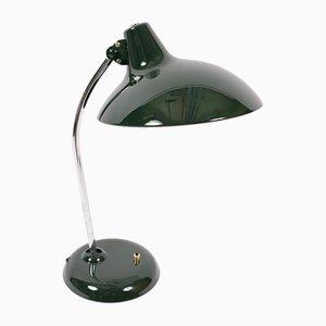Grüne Modell 6786 Tischlampe aus Metall von Christian Dell für Kaiser Idell, 1960er