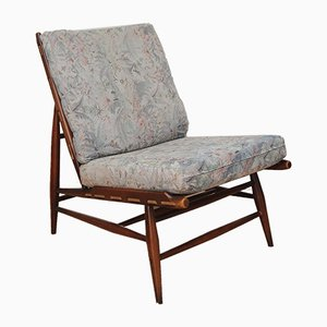 Vintage Model 427 Beech Lounge Chair by Lucian Ercolani for Ercol, 1960s