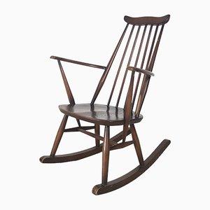 Rocking Chair Mid-Century en Orme par Lucian Ercolani pour Ercol, 1960s