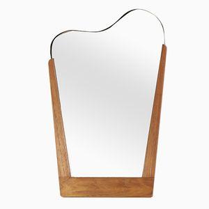 Specchio Mid-Century a forma di arpa