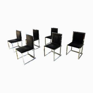 Chaises de Salle à Manger par Romeo Rega, 1970s, Set de 6