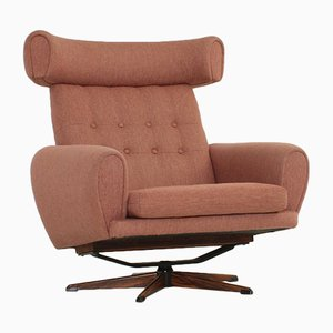 Danish Wing Lounge Chair, 1966
