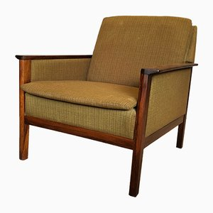 Vintage Rosewood Lounge Chair by Hans Olsen for CS Mobelfabrik, 1950s