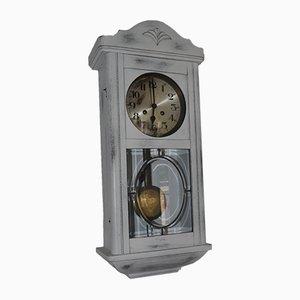 Horloge Peinte Blanche, 1940s