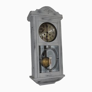 Painted White Clock, 1940s