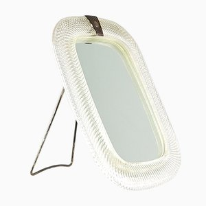 Italienischer Mid-Century Spiegel von Venini, 1950er